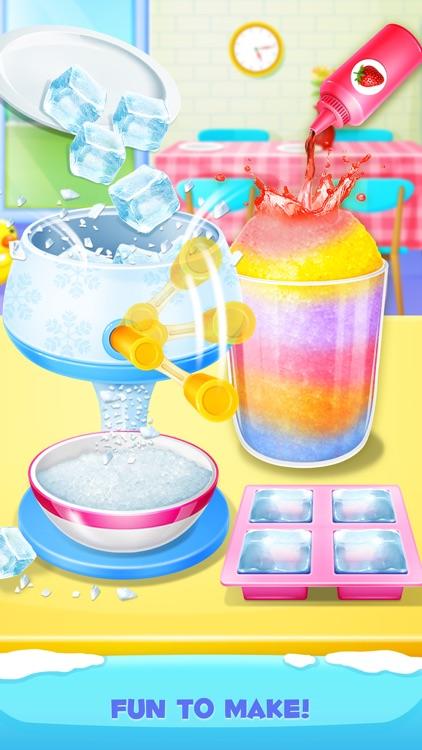 Summer Frozen Snow Cone Maker - Homemade Food Fun