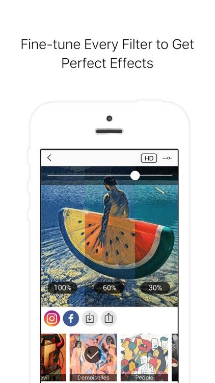 Picas - Art Photo Filter screenshot-3