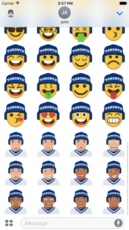 Toronto Baseball Stickers & Emojis screenshot-3