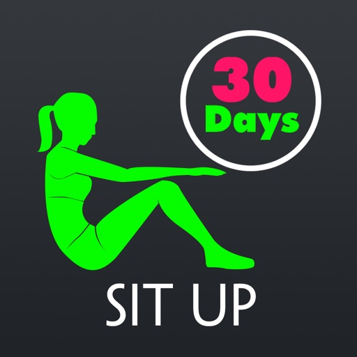 30 Day Sit Up Fitness Challenges ~ Daily Workout