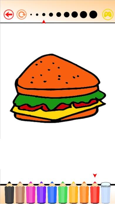Hello Food - Malbuch für mich & KinderScreenshot von 2