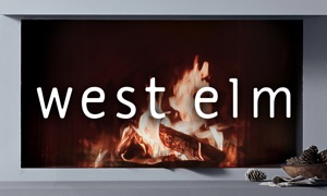 Fireplace by west elm