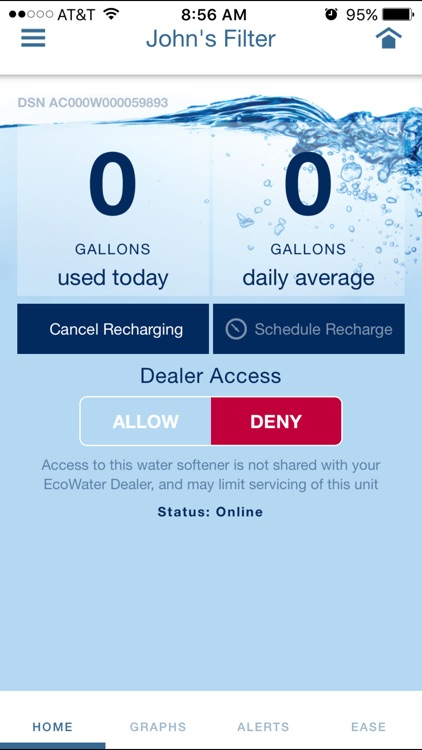 EcoWater Systems Wi-Fi Manager screenshot-1