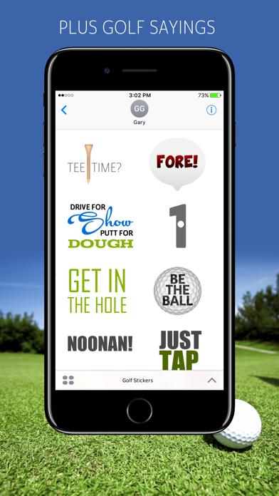 Golf Emojis screenshot 3