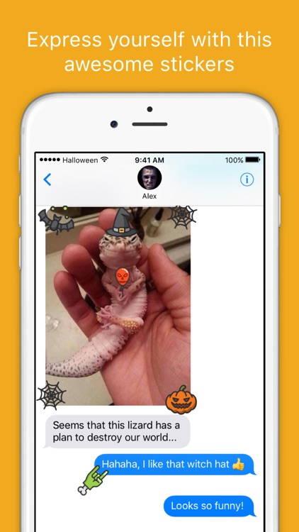iHalloween stickers - Scary Halloween Sticker Pack screenshot-3