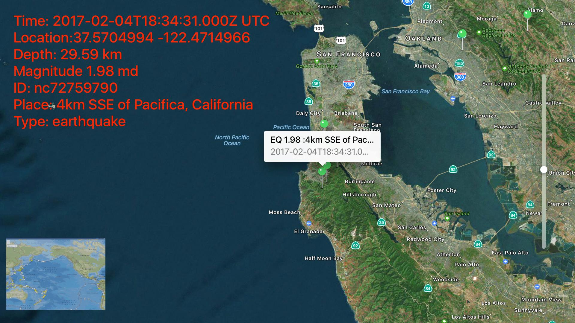Instant USGS Earthquake Lite screenshot 13