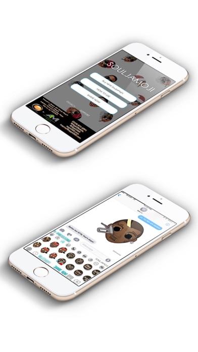 SouljaMoji app image