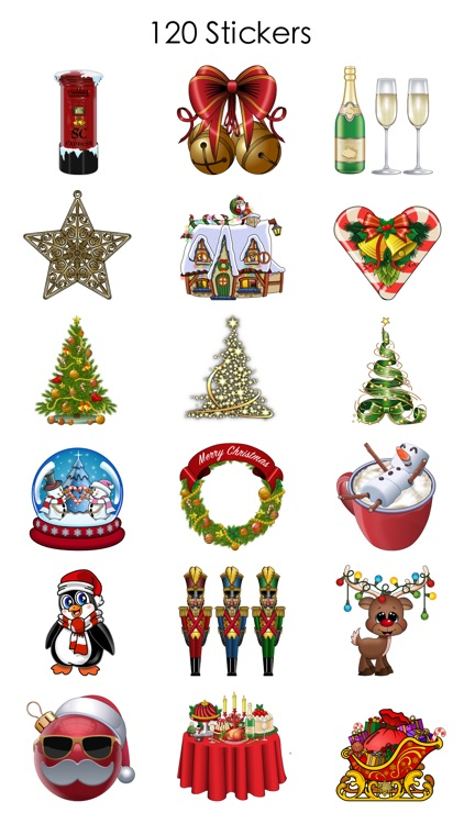 Xmas and New Year Stickers