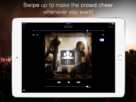 LiveTunes: Make your music sound LIVE! screenshot