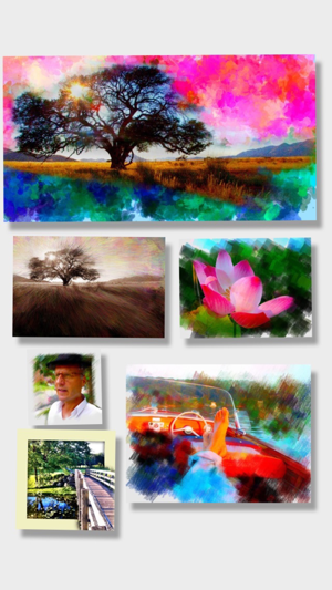 ‎PhotoViva - Paintings from your photos! Screenshot