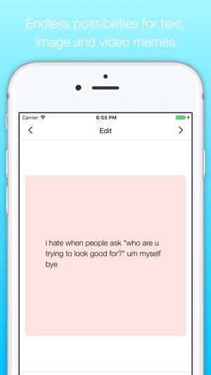 memely meme maker on the app store
