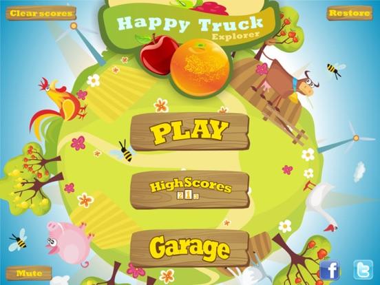 HappyTruck: Explorer на iPad