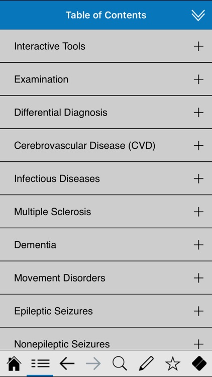 Neurology pocket screenshot-1
