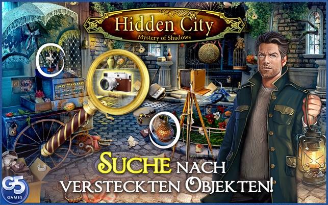 Hidden City®: Das Geheimnis der Schatten Screenshot