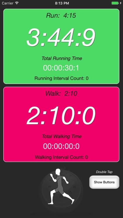 Runner's Interval Timer screenshot-3