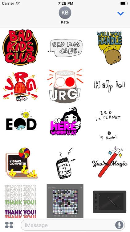 Bad Kids Club Stickers