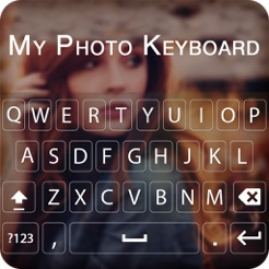 ‎My Photo Background Keyboard