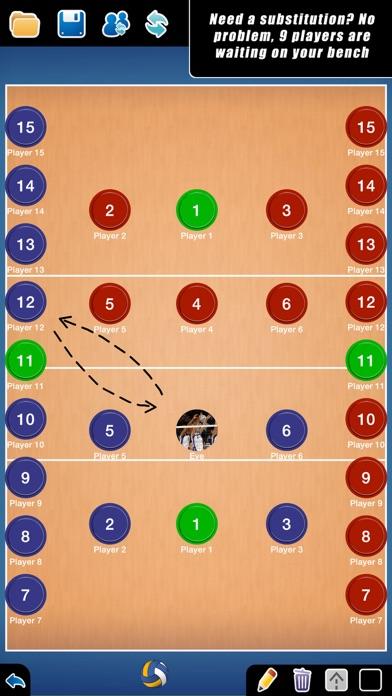 Coach Tactic Board: Volley - by Grzegorz Kipa - Sports