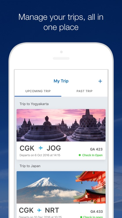 GARUDA INDONESIA MOBILE screenshot-2