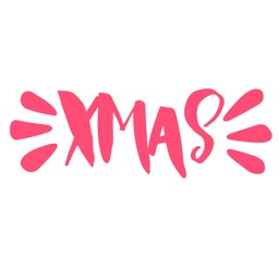 Xmas Greeting - Color Christmas Greetings Sticker