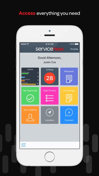 ServiceNow screenshot-1