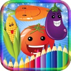 Coloring Book Fruit icon