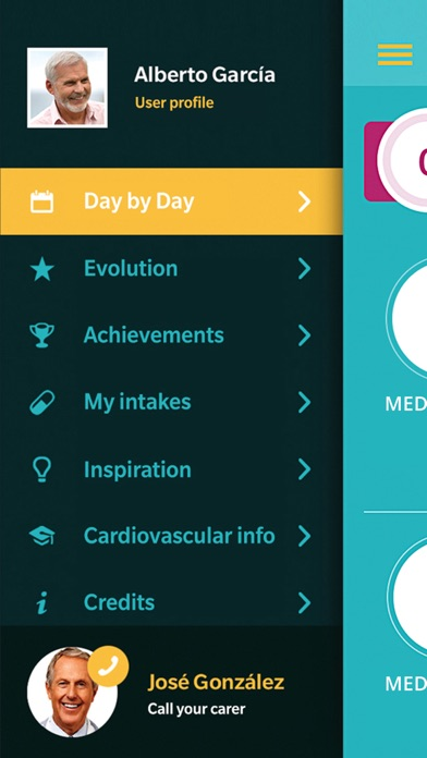 Day by day - Control over your cardio meds