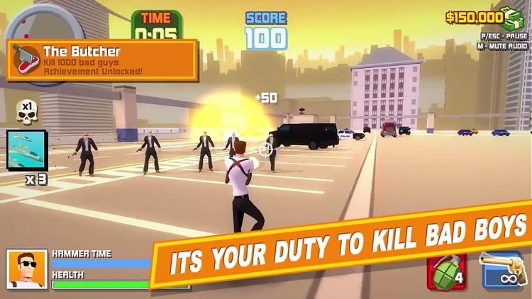 Crime City Gangster Shooter Games: War Simulator screenshot-3