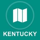 米国ケンタッキー州 : オフラインGPSナヒケーション icon