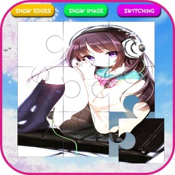 Cute Anime Girls Jigsaw Puzzle Games