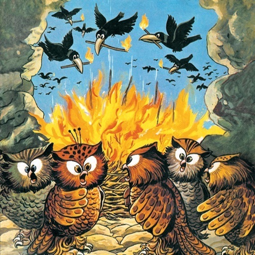 Crows and Owls - Amar Chitra Katha