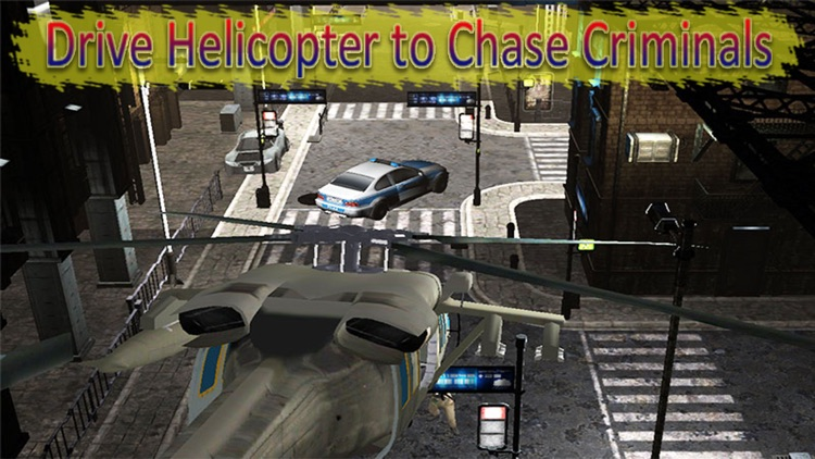 Police Helicopter Sniper - Cops And Robber Chase