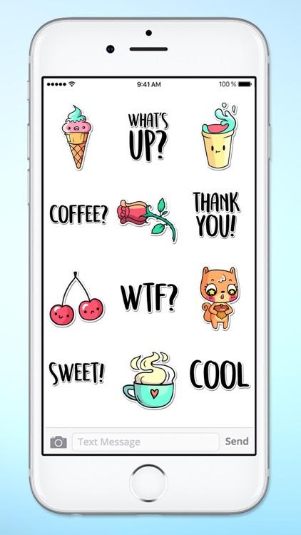 Super Happy Fun Sticker Pack 2 screenshot-3