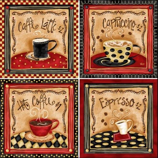 Coffee w Me Stickers