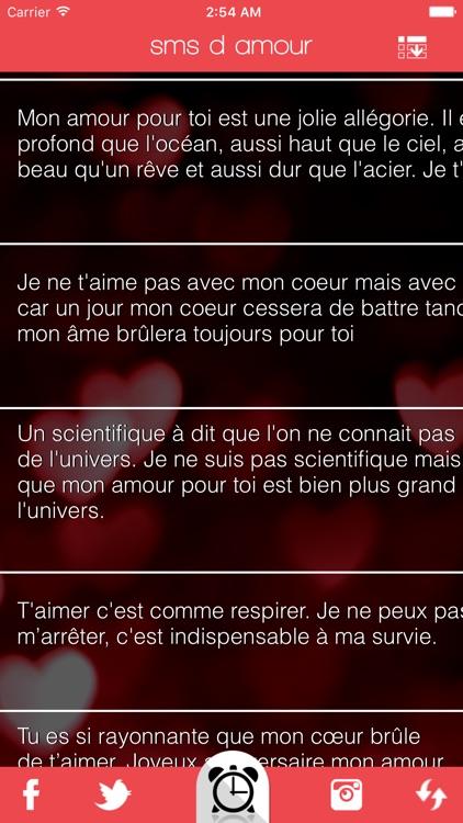 sms d amour screenshot-3