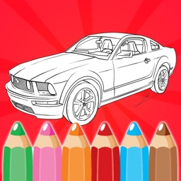 Cars Coloring Book Game - Enjoy And Color Your Day