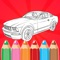 Cars Coloring Book For Kids And Adults is one of the best coloring games