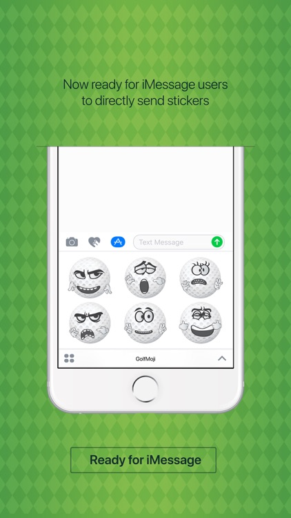 GolfMoji - golfer emojis & golf stickers keyboard