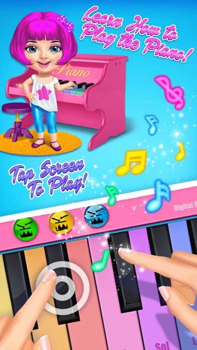 Sweet Baby Girl Pop Stars - No Ads screenshot 4