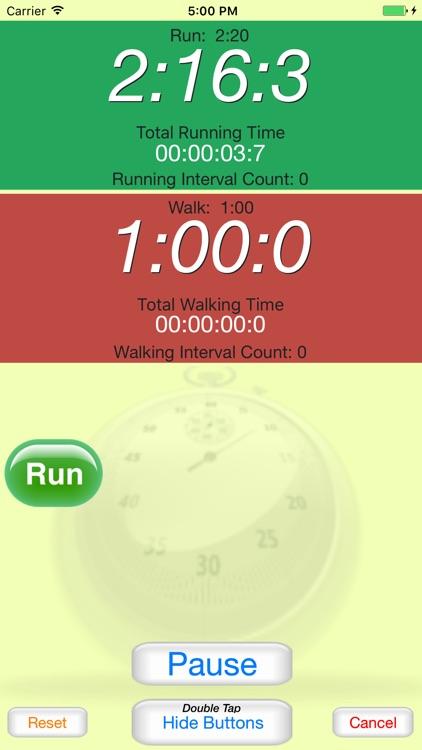 Running Interval Timer Pro /  Run-Walk Timer screenshot-3