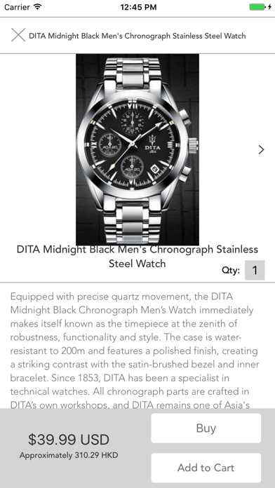 Watch Shop by 5mina:  Buy Luxury, Discount Watches screenshot two
