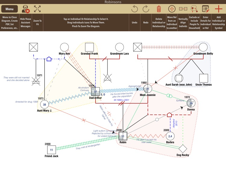 iGenogram: Genogram Editor screenshot-0
