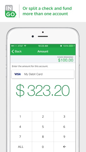 iphone screenshots - Mobile Check Deposit Prepaid Card