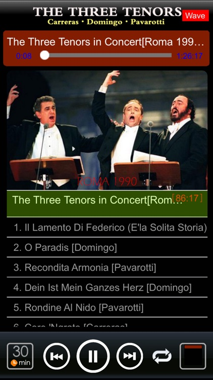 Three Tenors [Pavarotti·Domingo·Carreras] screenshot-3
