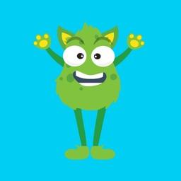 Monster Mash Emoji Stickers