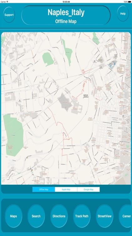 Naples Italy Offline City Maps Navigation
