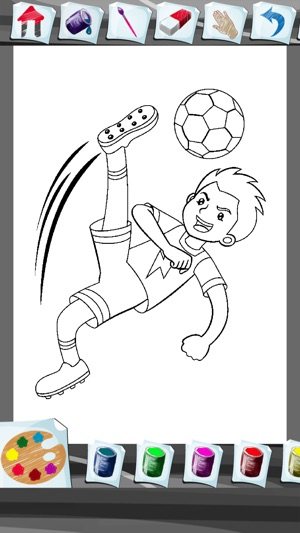 Football Coloring Book App On The Store