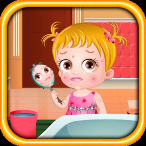 Baby Hazel : Skin Trouble iOS App