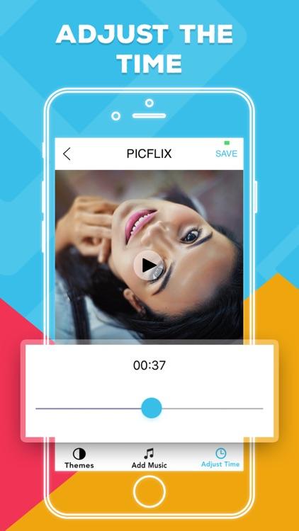 Picflix  Photo Slideshow Maker screenshot-3
