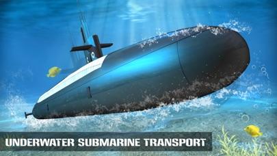Underwater Submarine Transport Simulator screenshot one